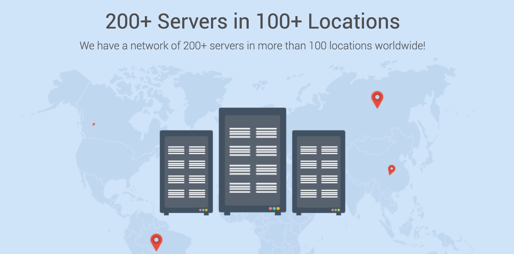 ivacy server location