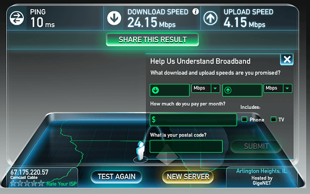 vpn speed tests