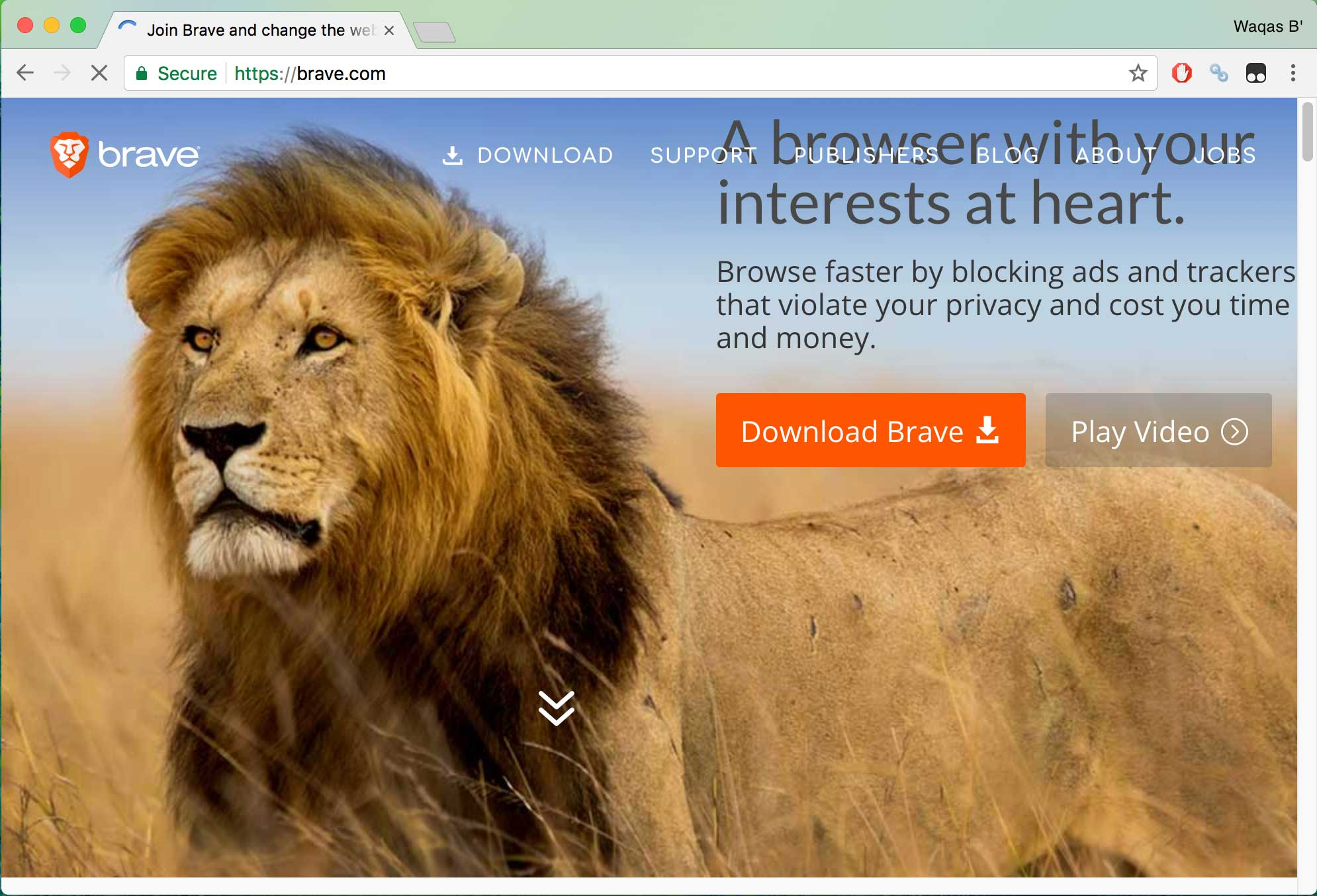Brave browser - best secure browsers